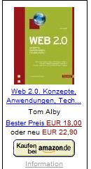Web 2.0 Konzepte, Anwendungen und Technologien von Alby, Tom