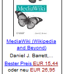 MediaWiki – Wikipedia and Beyond von Daniel J. Barrett