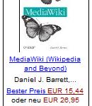 MediaWiki – Wikipedia and Beyond von Daniel J. Barrett