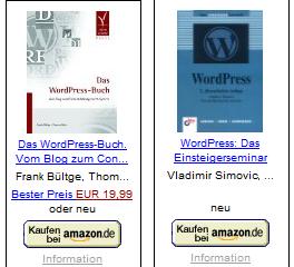Das WordPress Buch von F. Bültge / WordPress von T. Simovic