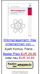 Wikimanagement von Komus, A. u. Wauch, F.