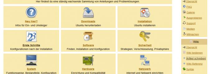 Ubuntu-Linux: Professionelles Wiki und Forum der deutschen User