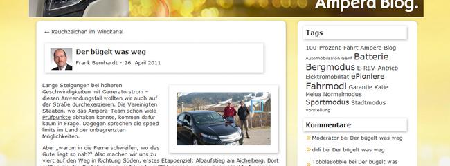 Die Opel-Blogs: Vom Erlkönig bis zum erstem Markterfolg
