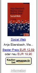 Social Web von Ebersbach, Glaser u. Heigl