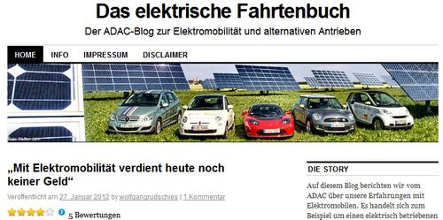 ADAC-Blog - Das elektrische Fahrtenbuch