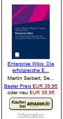Seibert/Preuss/Rauer: Enterprise Wikis: Die erfolgreiche Einführung und Nutzung von Wikis im Unternehmen