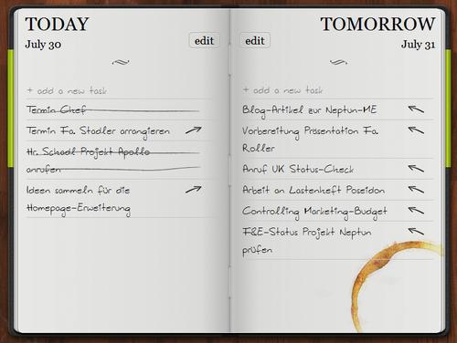 Aufgabenmanagement heute und morgen