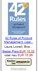 Lawley/Cohen: 42 Rules of Product Management