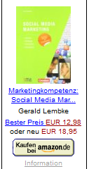 Lembke, Gerald: Social Media Marketing