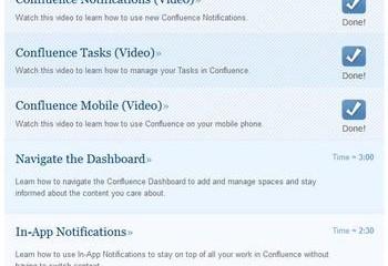 Confluence: E-Learning mit Lernfortschritt