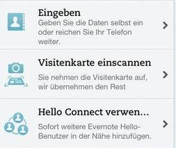 Evernote -Hello