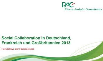 PAC Studie: Social Collaboration Länder-Vergleich