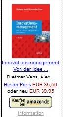 Vahs/Brem: Innovationsmanagement-Von der Idee zur erfolgreichen Vermarktung