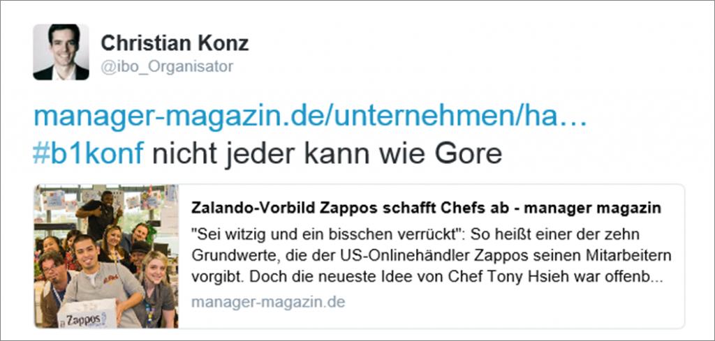 Gore-Tweet