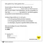 Die BVG total viral – Welche Persona sich hier wohl angesprochen fühlt?