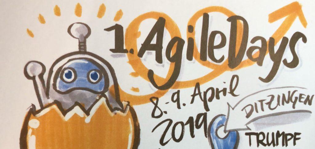 Als Agile Coach auf den 1. Agile Days bei TRUMPF – Meine ganz persönliche Twitter-Story
